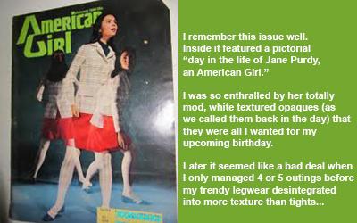 American Girl layout