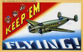Lockheed B14 bomber